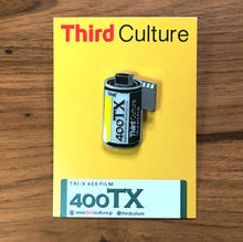 Load image into Gallery viewer, 35mm Kodak Tri-X 400 Lapel Pin