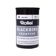 Load image into Gallery viewer, Rollei's Blackbird 100, 35mm, Black and White Film