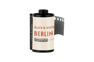 Berlin Kino Black and White 400 ISO 35mm x 36 exp.