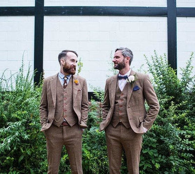 10 Vintage-Inspired Men's Wedding Attires for Rustic Fall Wedding