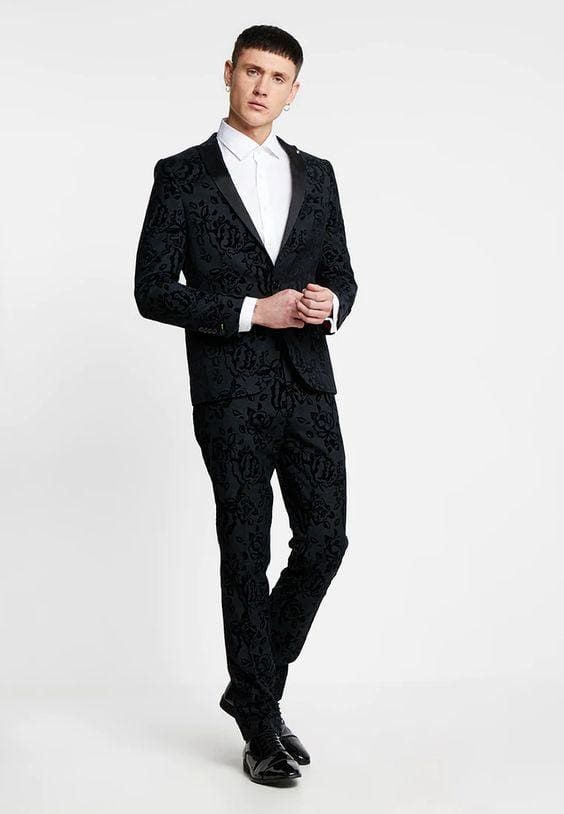 vintage-inspired suit
