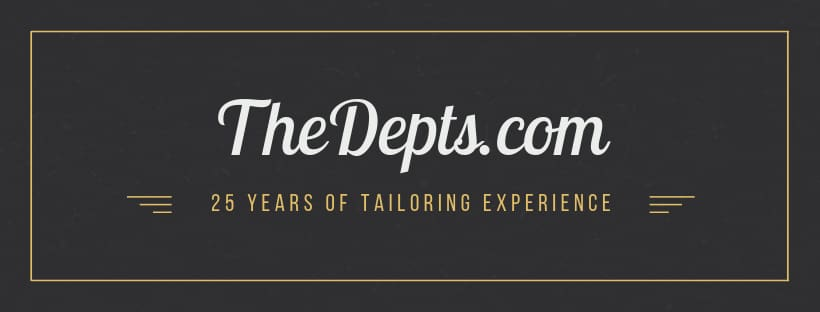 TheDepts - 25 years of experience in bespoke custom suit tailoring for men