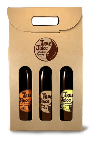 Tree Juice Maple Syrup - Variety 3 Pack