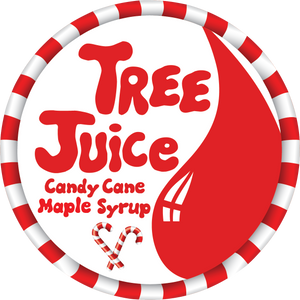 Tree Juice Candy Cane Maple Syrup