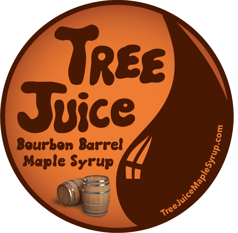 Tree Juice Bourbon Barrel Aged Maple Syrup