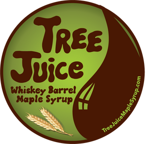 Tree Juice Rye Whiskey Barrel Aged Maple Syrup