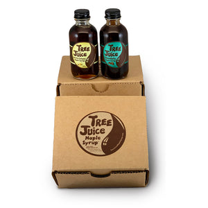 Tree Juice Maple Syrup - Mini Variety 2 Pack