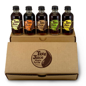 Tree Juice Maple Syrup - Mini 5 Pack