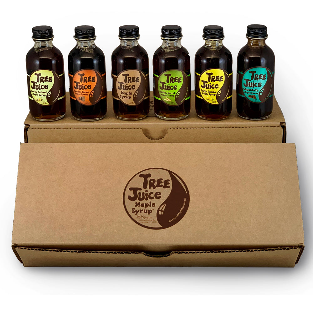 Tree Juice Maple Syrup - Mini Variety 6 Pack