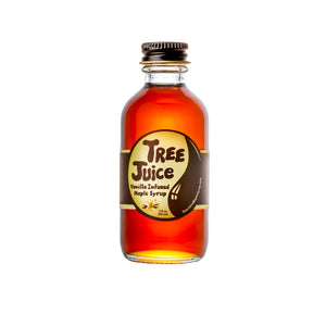 Tree Juice Vanilla Infused Maple Syrup