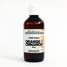 Load image into Gallery viewer, Orange & Cinnamon Hand Wash