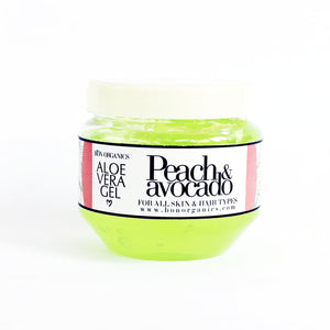 Aloe gel with Peach & Avocado