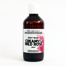 Load image into Gallery viewer, Creamy & Wild Rose Body Wash