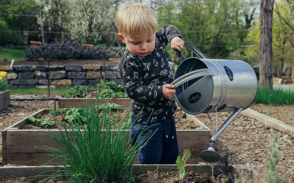 Consider adding a kid zone in your community garden! It's a great way to educate and involve younger generations – and to keep tiny hands busy while you get to work!
