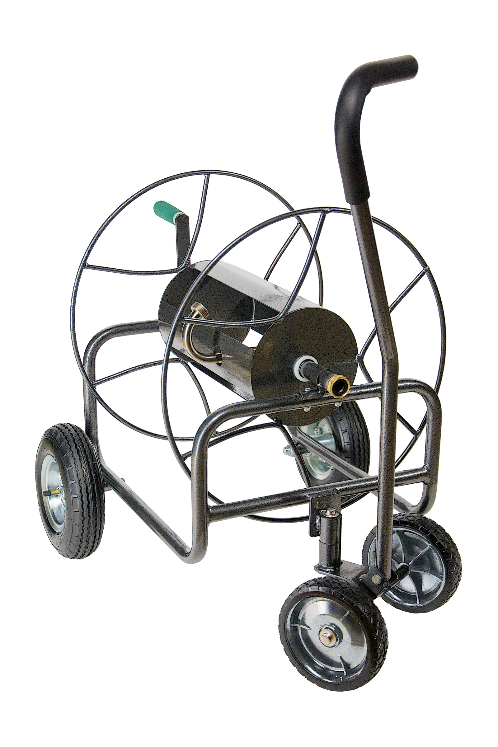 EZ Turn Four Wheel Garden Hose Cart