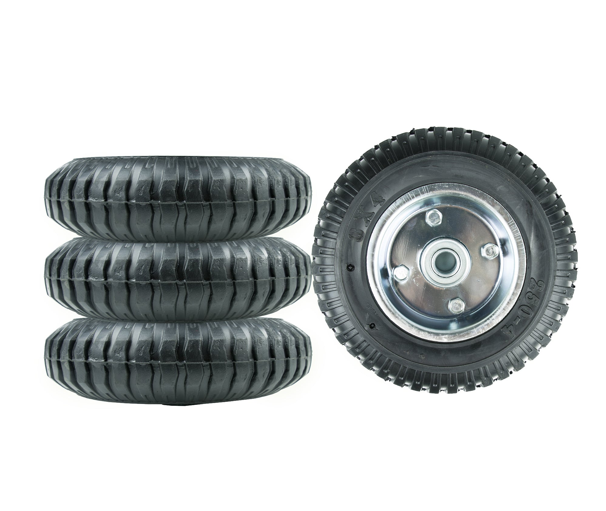 Replacement Solid Tire (4-pcs)