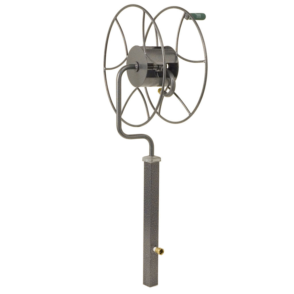 Free-Standing 200 ft. 360 Degree Swivel Hose Reel