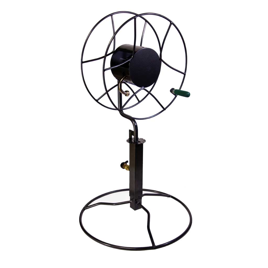 Free-Standing Patio Swivel Hose Reel