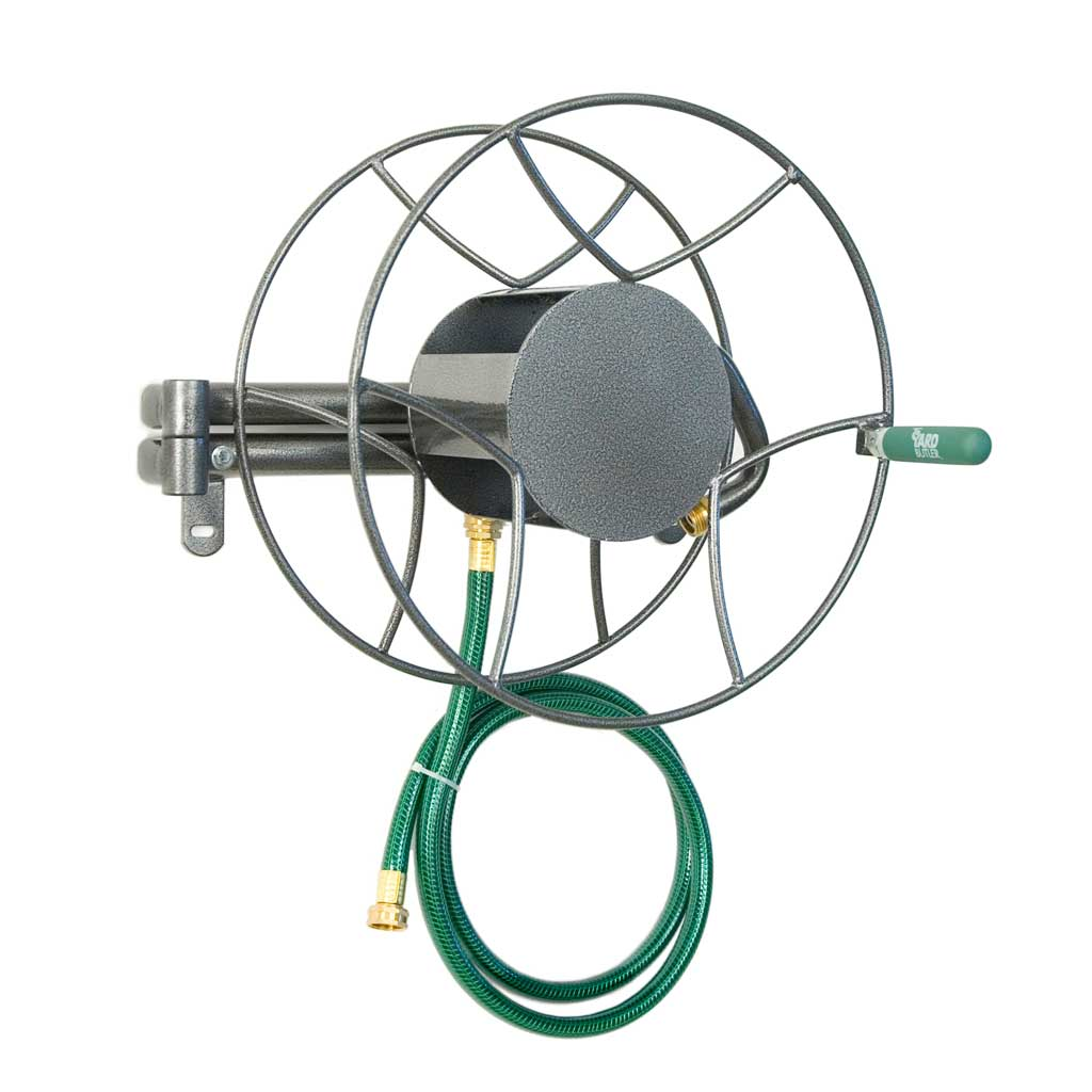 180 Degree Swivel Reel - 100 ft. Wall Mounted Hose Reel