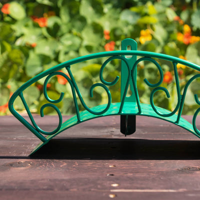 Decorative Wall Mount Hose Hanger - Spirals