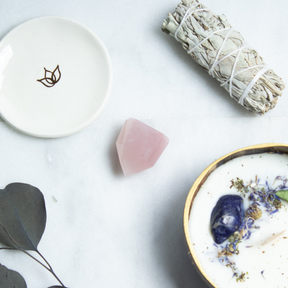 Rose quartz crystal tower | ethically sourced rose quartz obelisk from Brazil | rose quartz crystal point for love and self love