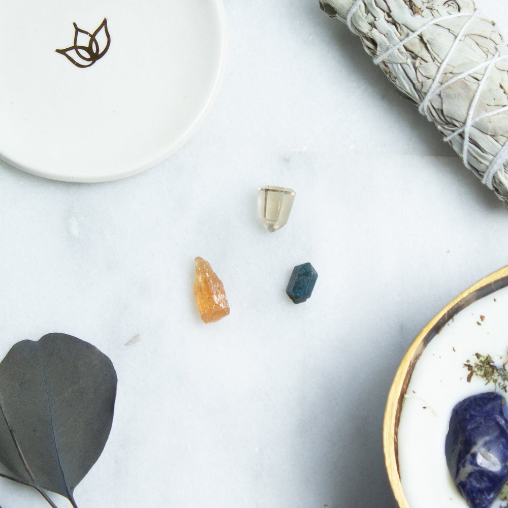 Crystal kit for attracting money | ethically sourced gemstone ritual set | healing crystals for manifesting abundance | gemstones for wealth