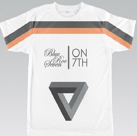 7 ON 7th Tee (Peach/Grey)