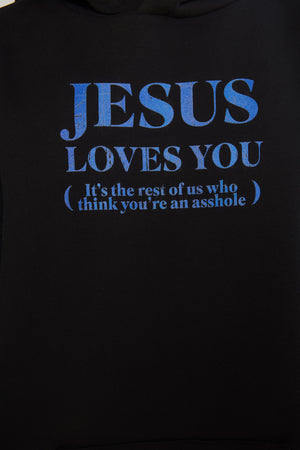 "Худи ""Jesus loves you"""