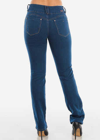 Image of Levanta Cola Med Wash Bootcut Jeans