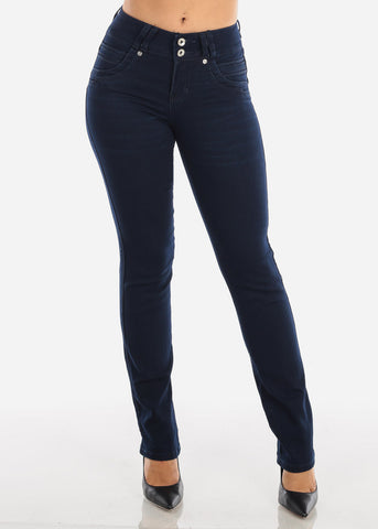 Image of Dark Navy Levanta Cola Bootcut Jeans
