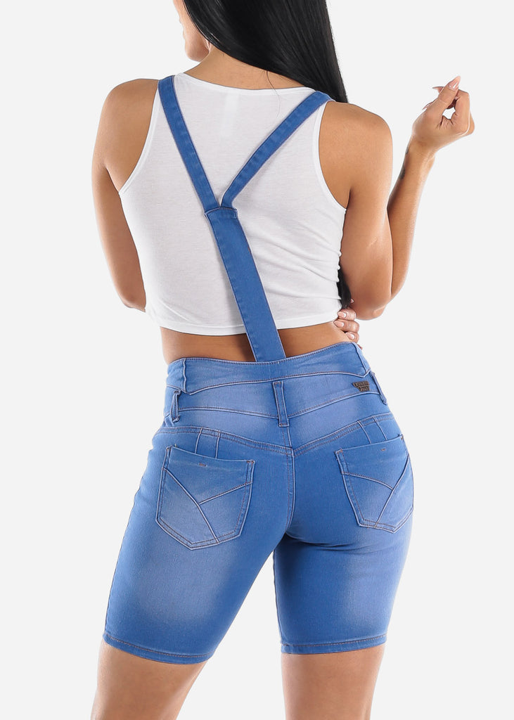 Multiway Med Blue Denim Overall or Shorts