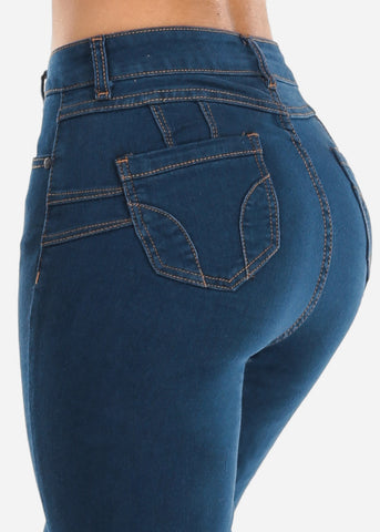 Image of High Rise Straight Leg Jeans