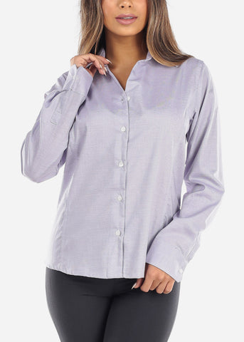Purple Button Down Shirt