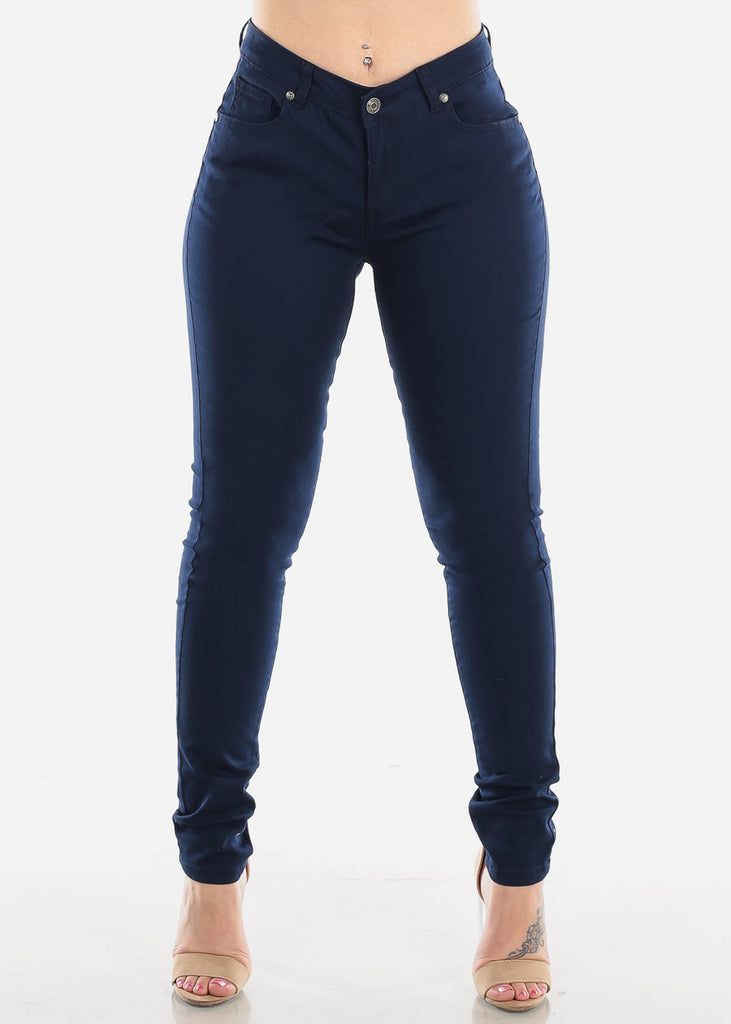 Classic Navy Skinny Jeans