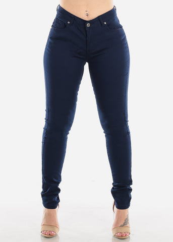 Image of Classic Navy Skinny Jeans