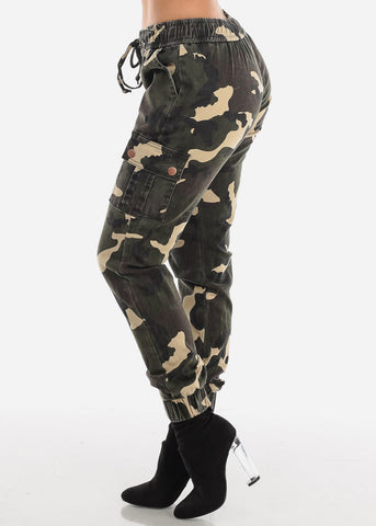 Camouflage Cargo Jogger Pants