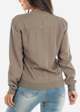 Image of Olive Army Jacket XTJ3480OLV