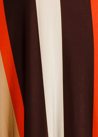 Image of Strapless Stripe Maxi Dress
