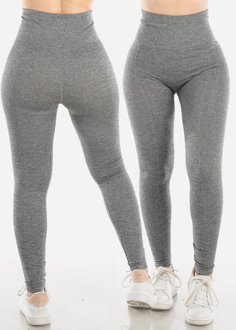 Seamless Solid Leggings (2 PC PACK)