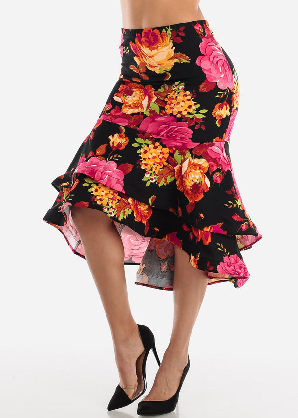 Floral Multi Way Dress Or Skirt