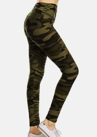 Image of Activewear Camouflage Leggings