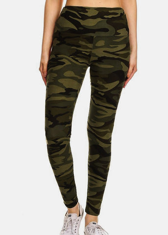 Activewear Camouflage Leggings