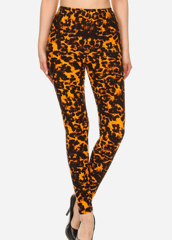 Activewear Animal Print Leggings