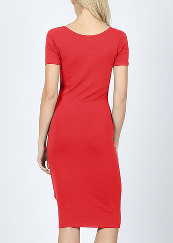 Ruby Bodycon Midi Dress 4278PRUBY