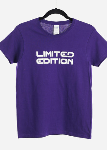 "Purple Graphic Top ""Limited Edition"""