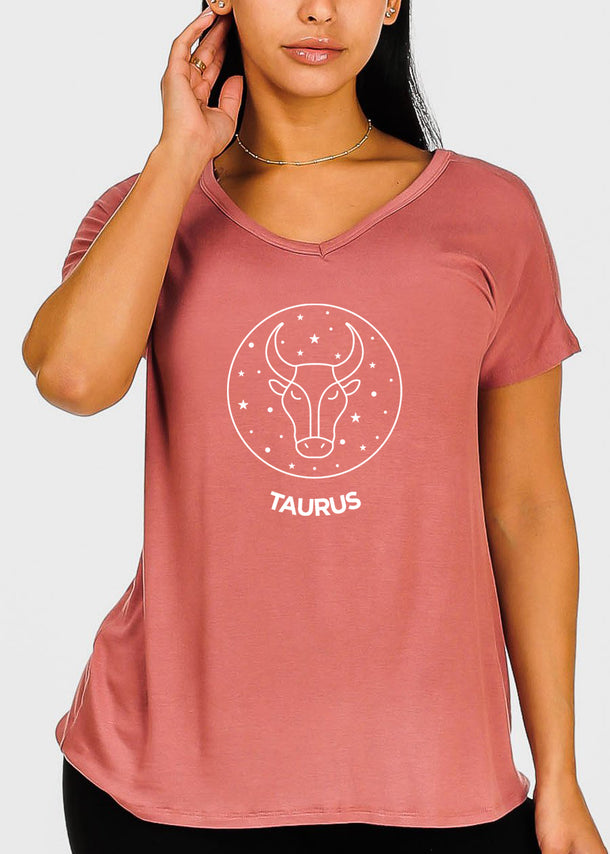 "Rose Graphic Top ""Taurus"""