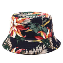 Load image into Gallery viewer, Floral Print Bucket Hat - B