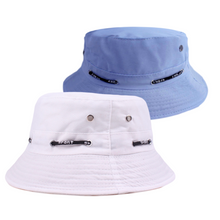 Load image into Gallery viewer, 2 Pcs Set Solid Fashionable Bucket Hat