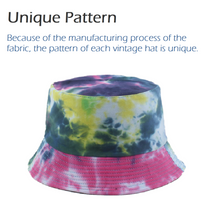 Load image into Gallery viewer, Women's Vintage Printed Bucket Hat
