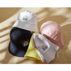Embroidery Bucket Hat - Rainbow